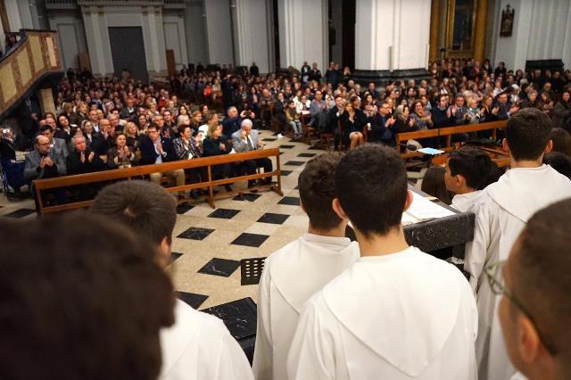 sábado día 2 de marzo 2019 .Templo parroquial de Ntra. Sra. de Belén el Concierto de la Escolanía  del Misteri d'Elx